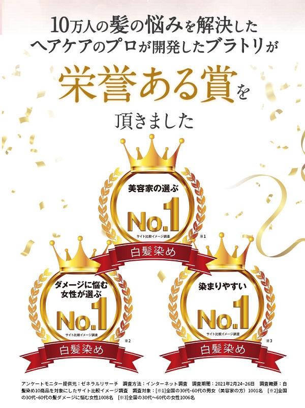ブラトリ(ブラックデュアルトリートメント),受賞