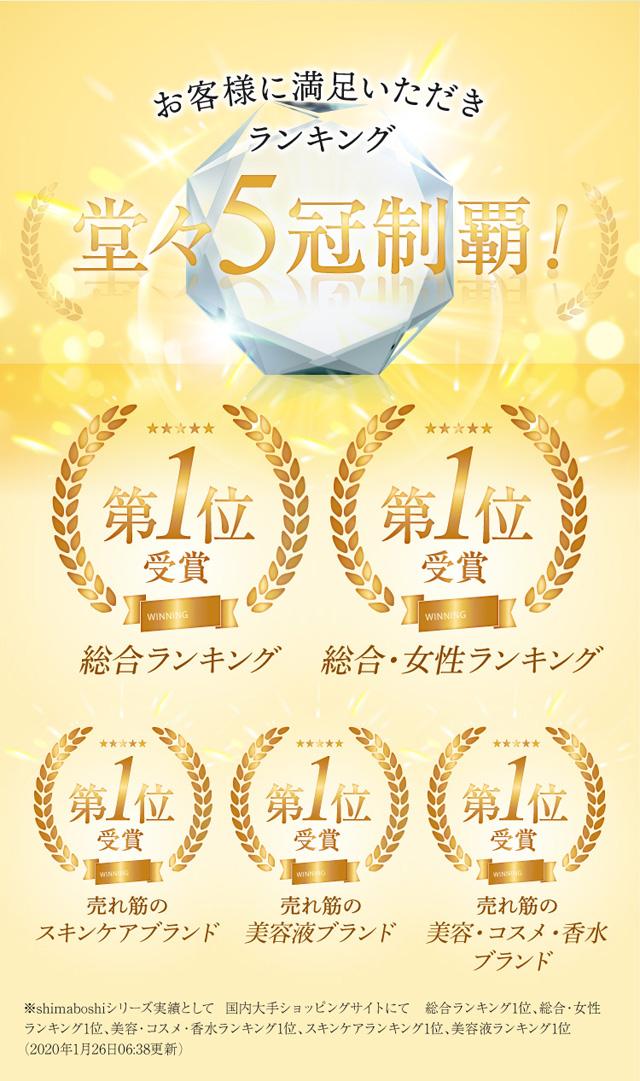 shimaboshi(シマボシ) コレクティブアイセラム,評価,人気,受賞