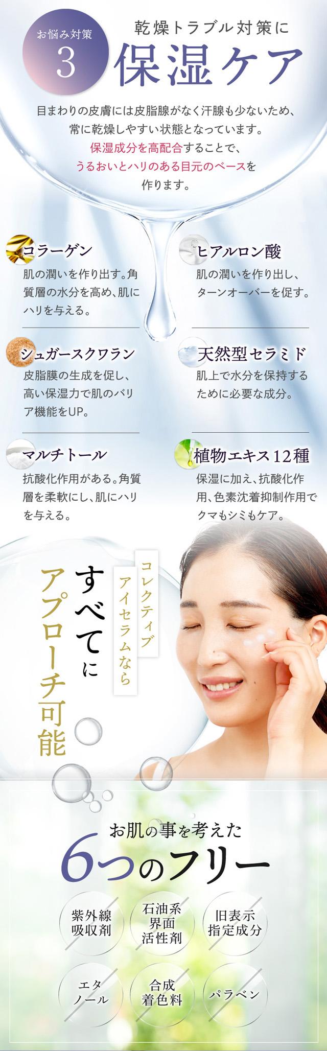 shimaboshi(シマボシ) コレクティブアイセラム,口コミ,評判,効果なし,副作用