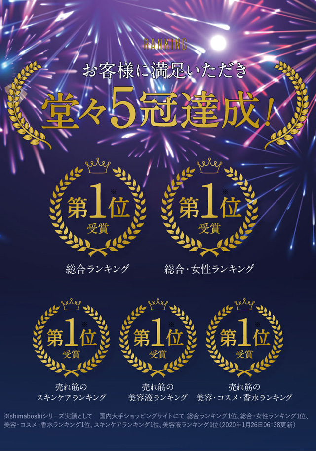 shimaboshi(シマボシ) モイスチャーローション,評価,人気,受賞