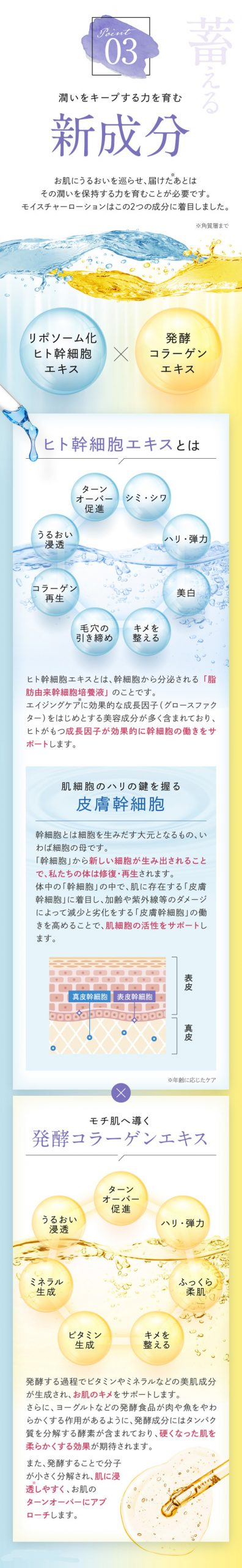 shimaboshi(シマボシ) モイスチャーローション,特徴,効果
