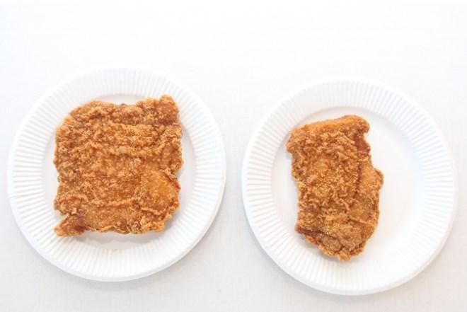 ファミチキ,40%増量,カロリー,比較,糖質