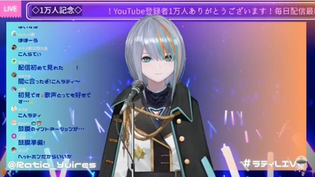 ラティオ・ユィリス【Project:YuiRes】,評判,炎上