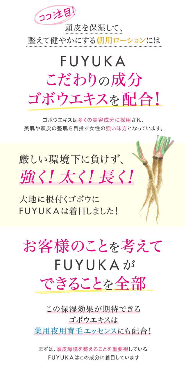 FUYUKAスカルプケアセット,特徴,効果